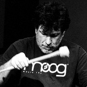 Drummer & percussionist Gino Robair