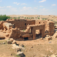 Suayb Sehri, the City of Jethro (the Prophet Suayb in the Quran), holds the stark ruins of a Roman town, tucked among the modest dwellings of Ozkent village.