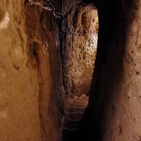 A passageway in the underground city of Derinkuyu