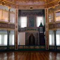 Main Hall of the Galata Mevlevi Museum (Sufi)