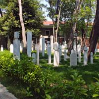 Graveyard at the Galata Mevlevi Museum (Sufi)