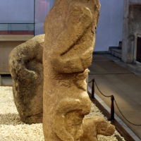 Artifacts from Göbekli Tepe in the Sanliurfa Museum