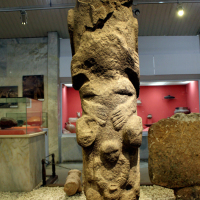 An artifact from Göbekli Tepe in the Sanliurfa Museum