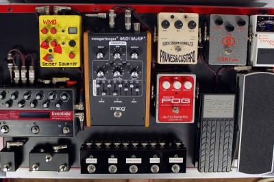 Barry Cleveland's pedalboard