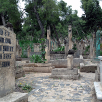 A cemetary in Sanliurfa