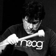 Drummer & percussionist Gino Robair