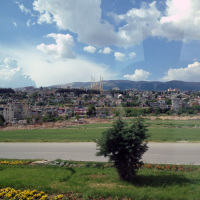 View of Gaziantep from the bus to Sanliurfa.