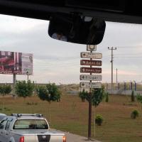 Sign for Gobekli Tepe just outside Sanliurfa.