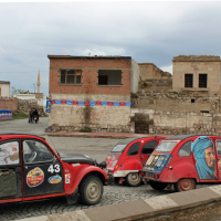 Taxicabs in Derinkuyu