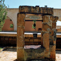 The sacred well of the Prophet Eyyub (8th Century). The waters are said to be healing.