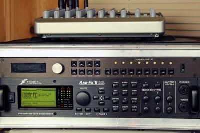 Fractal Audio Axe-Fx II XL and Looperlative LP1