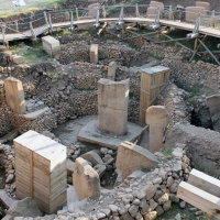 Göbekli Tepe is 12,000 years old. Its discovery precipitated a total reevaluation of the origins of human civilization, and continues to do so.