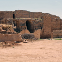 Ruins of the Kali or Harran Castle, restored in the 11th Century on the site of what may have originally been a Hittite fortress.