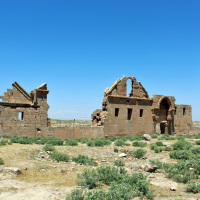The ruins of the University of Harran (the first Islamic university) and Ulu Cami (likely the first mosque). Both date to the Ayyubid period (8th Century).