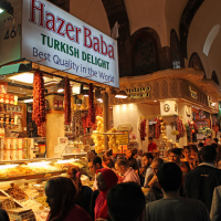 The Spice Bazaar in Istanbul