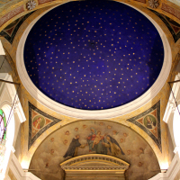 Starry Vault of the Church of St Peter and Paul