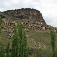 The outskirts of the modern city of Nevsehir