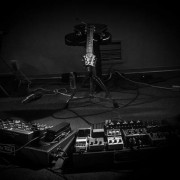 Barry Cleveland's rig at the Y2K12 Live-Looping Festival